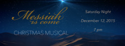 Cantata 2015 Announcement