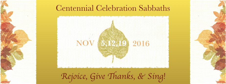 Centennial Sabbaths