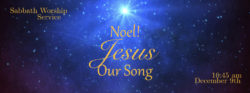 Noel! Jesus, Our Song